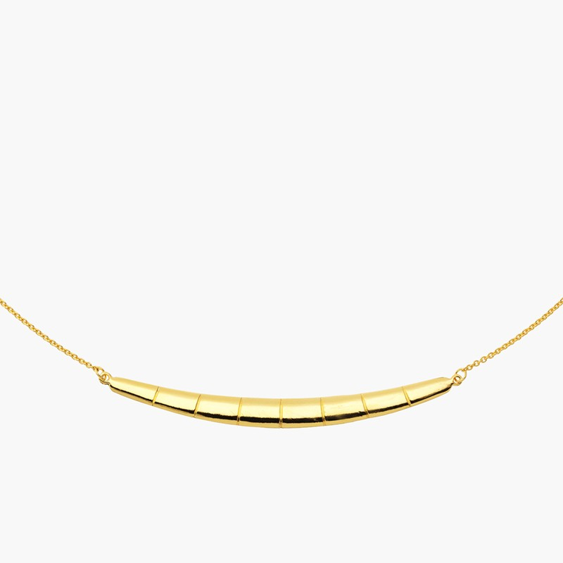 Tartesia: JUBA REVERSIBLE BAR NECKLACE - Hiphunters Shop
