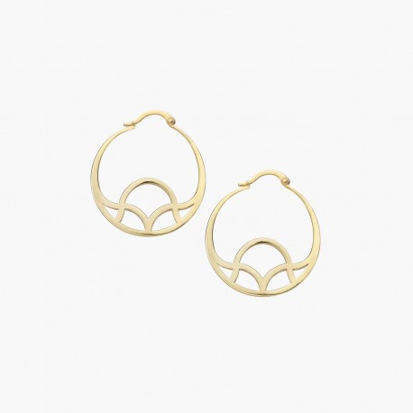 GALIANA HOOP EARRINGS